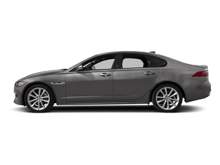 Corris Grey Metallic 2018 Jaguar XF Pictures XF Sedan 4D 20d R-Sport photos side view