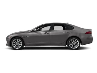 Corris Grey Metallic 2018 Jaguar XF Pictures XF Sedan 25t R-Sport AWD photos side view