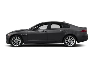 Narvik Black 2018 Jaguar XF Pictures XF Sedan 25t R-Sport AWD photos side view