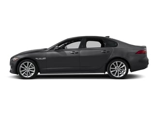 Carpathian Grey 2018 Jaguar XF Pictures XF Sedan 4D 20d R-Sport photos side view