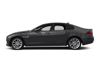 Carpathian Grey 2018 Jaguar XF Pictures XF Sedan 25t R-Sport AWD photos side view