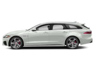Fuji White 2018 Jaguar XF Pictures XF Wgn 4D Sportbrake First Edition AWD photos side view