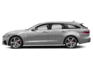 Indus Silver Metallic 2018 Jaguar XF Pictures XF Wgn 4D Sportbrake First Edition AWD photos side view