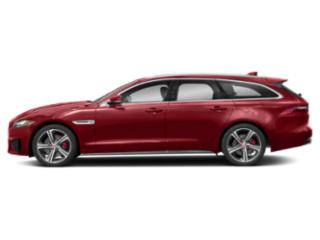 Firenze Red Metallic 2018 Jaguar XF Pictures XF Wgn 4D Sportbrake First Edition AWD photos side view