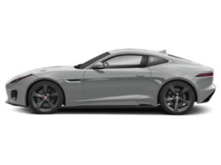 Indus Silver Metallic 2018 Jaguar F-TYPE Pictures F-TYPE Coupe Auto 400 Sport AWD photos side view