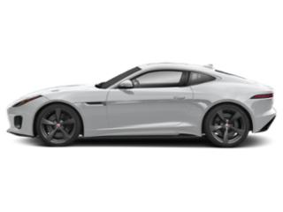 Yulong White Metallic 2018 Jaguar F-TYPE Pictures F-TYPE Coupe Auto 400 Sport AWD photos side view