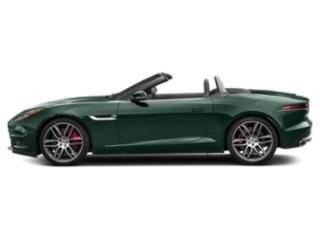 British Racing Green Metallic 2018 Jaguar F-TYPE Pictures F-TYPE Convertible Auto 380HP AWD photos side view