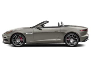 Silicon Silver 2018 Jaguar F-TYPE Pictures F-TYPE Convertible Auto 380HP AWD photos side view