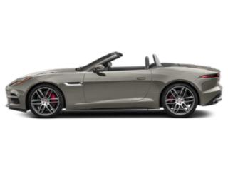 Silicon Silver 2018 Jaguar F-TYPE Pictures F-TYPE Convertible Auto R AWD photos side view