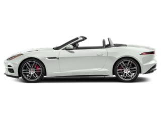 Fuji White 2018 Jaguar F-TYPE Pictures F-TYPE Convertible 2D 380 photos side view