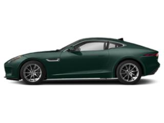 British Racing Green Metallic 2018 Jaguar F-TYPE Pictures F-TYPE Coupe Auto 380HP photos side view