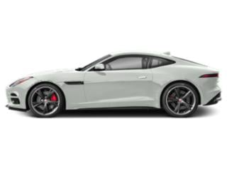 Fuji White 2018 Jaguar F-TYPE Pictures F-TYPE Coupe 2D R-Dynamic AWD photos side view