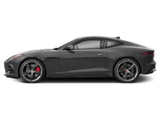 Corris Grey Metallic 2018 Jaguar F-TYPE Pictures F-TYPE Coupe Auto R AWD photos side view