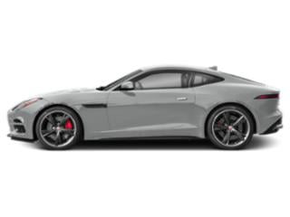 Indus Silver Metallic 2018 Jaguar F-TYPE Pictures F-TYPE Coupe 2D R-Dynamic AWD photos side view