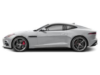 Yulong White Metallic 2018 Jaguar F-TYPE Pictures F-TYPE Coupe 2D R-Dynamic AWD photos side view