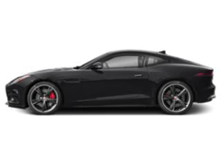 Narvik Black 2018 Jaguar F-TYPE Pictures F-TYPE Coupe Auto R AWD photos side view