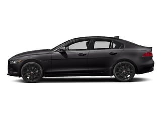 Santorini Black 2018 Jaguar XE Pictures XE Sedan 4D 25t Prestige photos side view
