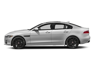 Silicon Silver 2018 Jaguar XE Pictures XE Sedan 4D 30t Prestige photos side view