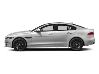 Silicon Silver 2018 Jaguar XE Pictures XE Sedan 4D 25t Prestige photos side view