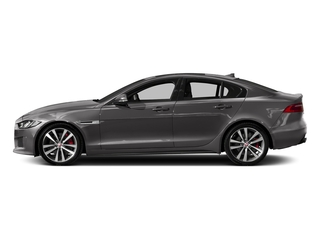 Corris Grey 2018 Jaguar XE Pictures XE Sedan 4D S AWD photos side view
