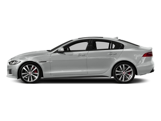 Indus Silver 2018 Jaguar XE Pictures XE Sedan 4D S AWD photos side view