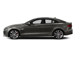 Silicon Silver 2018 Jaguar XE Pictures XE Sedan 4D S AWD photos side view