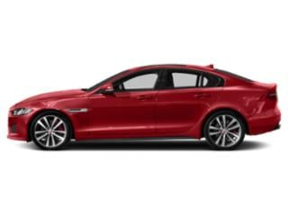 Caldera Red 2018 Jaguar XE Pictures XE Sedan 4D S AWD photos side view