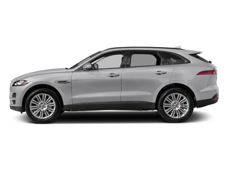 Yulong White Metallic 2018 Jaguar F-PACE Pictures F-PACE 20d Premium AWD photos side view