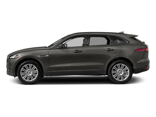 Silicon Silver 2018 Jaguar F-PACE Pictures F-PACE 20d Premium AWD photos side view