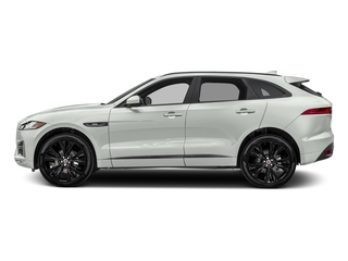 Fuji White 2018 Jaguar F-PACE Pictures F-PACE 20d R-Sport AWD photos side view
