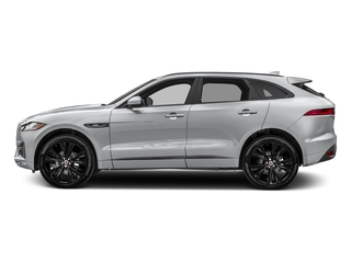 Yulong White Metallic 2018 Jaguar F-PACE Pictures F-PACE 20d R-Sport AWD photos side view