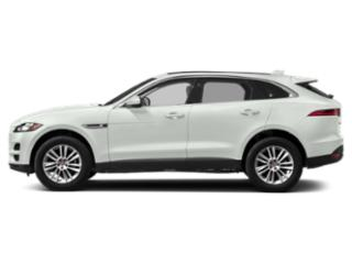 Fuji White 2018 Jaguar F-PACE Pictures F-PACE 25t Prestige AWD photos side view