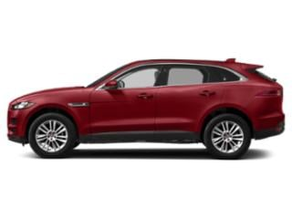 Firenze Red Metallic 2018 Jaguar F-PACE Pictures F-PACE 25t Prestige AWD photos side view