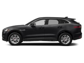 Narvik Black 2018 Jaguar F-PACE Pictures F-PACE 25t AWD photos side view