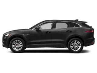 Carpathian Grey 2018 Jaguar F-PACE Pictures F-PACE Utility 4D 25t Premium AWD photos side view