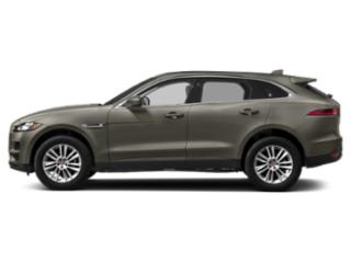 Silicon Silver 2018 Jaguar F-PACE Pictures F-PACE Utility 4D 25t Premium AWD photos side view
