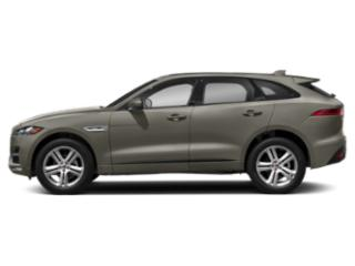 Silicon Silver 2018 Jaguar F-PACE Pictures F-PACE Utility 4D 25t R-Sport AWD photos side view