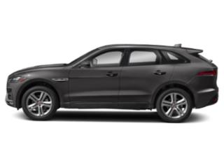 Corris Grey Metallic 2018 Jaguar F-PACE Pictures F-PACE 35t R-Sport AWD photos side view