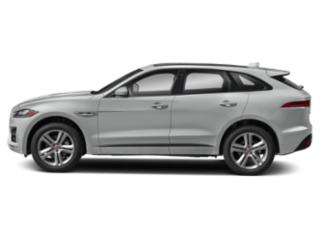 Indus Silver Metallic 2018 Jaguar F-PACE Pictures F-PACE 35t R-Sport AWD photos side view