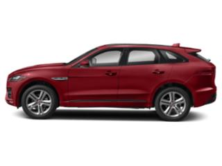 Firenze Red Metallic 2018 Jaguar F-PACE Pictures F-PACE 35t R-Sport AWD photos side view