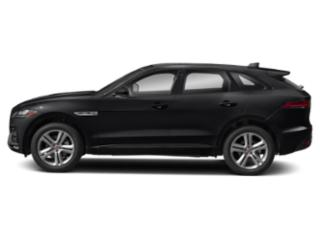 Narvik Black 2018 Jaguar F-PACE Pictures F-PACE 35t R-Sport AWD photos side view