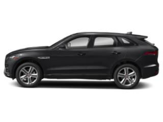 Carpathian Grey 2018 Jaguar F-PACE Pictures F-PACE 35t R-Sport AWD photos side view