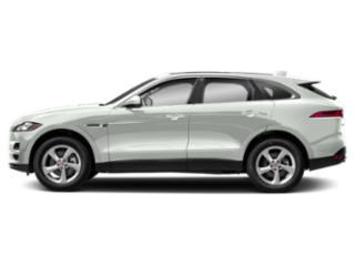 Fuji White 2018 Jaguar F-PACE Pictures F-PACE 30t Premium AWD photos side view