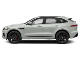 Fuji White 2018 Jaguar F-PACE Pictures F-PACE S AWD photos side view