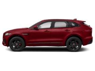 Firenze Red Metallic 2018 Jaguar F-PACE Pictures F-PACE S AWD photos side view