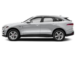 Yulong White Metallic 2018 Jaguar F-PACE Pictures F-PACE Utility 4D 30t Portfolio AWD photos side view