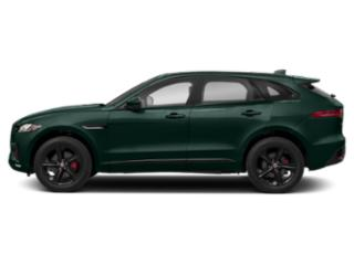 British Racing Green Metallic 2018 Jaguar F-PACE Pictures F-PACE S AWD photos side view