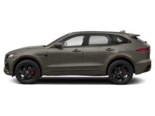 Silicon Silver 2018 Jaguar F-PACE Pictures F-PACE S AWD photos side view