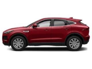 Firenze Red Metallic 2018 Jaguar E-PACE Pictures E-PACE P300 AWD R-Dynamic SE photos side view