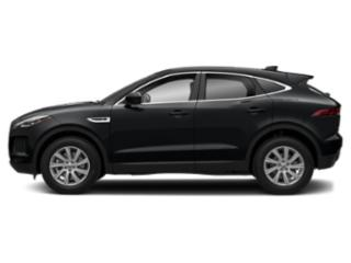 Santorini Black Metallic 2018 Jaguar E-PACE Pictures E-PACE P300 AWD R-Dynamic SE photos side view
